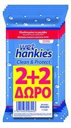 Wet Hankies Clean&Protect